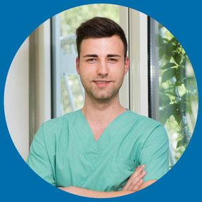 Charlin Ohrt, Gesundheits- und Krankenpflegerin und zertifizierte Wundmanagerin im St. Marien-Krankenhaus Berlin