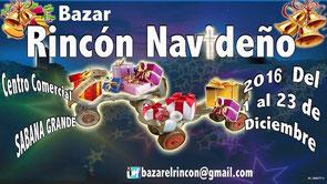 Bazar Rincón Navideño 2016