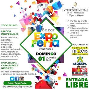 Bazar Expo Feria Venezuela - 01 de Octubre del 2017