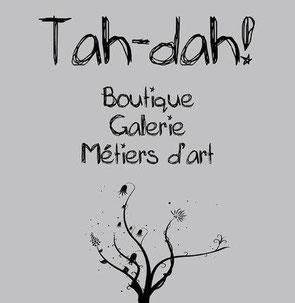 Tah-dah! | Boutique • Galerie • Métiers d'art :: 156 rue Jean-Talon Est, Montréal