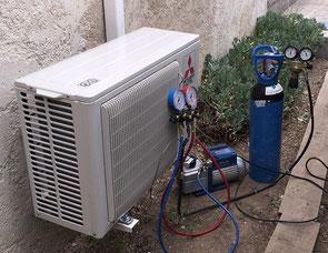test etancheite climatisation sous azote