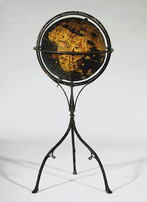 """Der  Globus von Martin Behaim den er """"Erdapfel"""" nannte"""