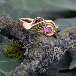 Ruby Wedding Anniversary Remodel 22ct Gold Ring