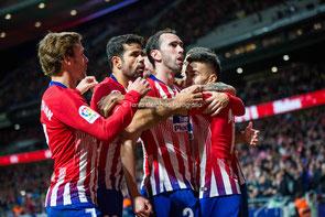 Diego Godín, Atlético de Madrid