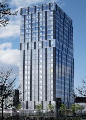 Grünes Bauen kann schön, praktisch und umweltschonend sein: LifeCycle Tower | © Cree GmbH