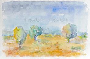 Nr.2088  Baum-Landschaft