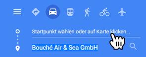 Bild: Google-Routenplaner