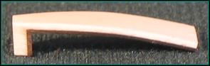 plaque de tête ivoire-ébène