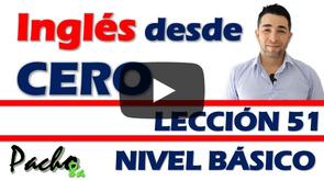 Lección 51  Cómo aprender 360 verbos comunes en inglés - Regulares e irregulares.