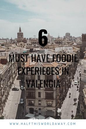 Food experiences in Valencia