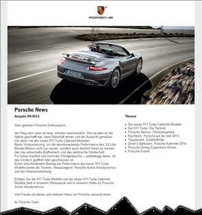 Das E-Mail Marketing von Automobilherstellern in einer perfekten Welt