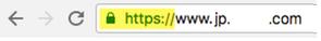HTTPS対応済み場合の表示