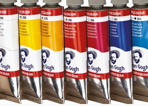 Malen mit Acrylfarben in Künstlerqualität