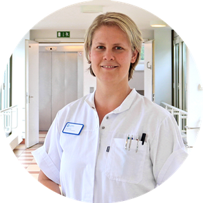 Laura Hohoff, Gesundheits- und Krankenpflegerin im St. Marien-Krankenhaus Berlin