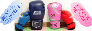 各種キックボクシング用品