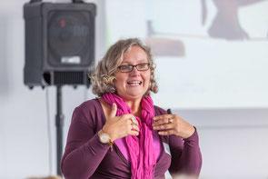 Gaby Schrenk auf dem Frauenwirtschaftstag 2016