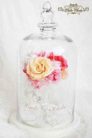 ディズニー プロポーズ 薔薇 ガラスドーム オーダーフラワー ディズニーランドホテル