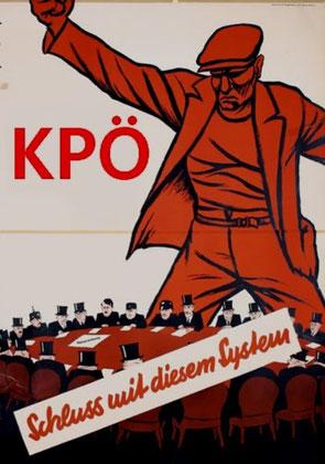 Plakat fra det østrigske kommunistparti