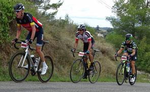 Gilbert, derrière J-Paul, et devant Ph. Planud 1er à Marcoule