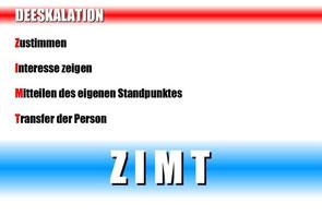 SC Int'l - Street Combatives - Kontaktmanagement - Kommunikation - Deeskalation - Szenariotraining - ZIMT-Taktik / ZIMT-Methode