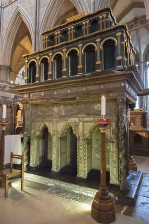 Chasse de saint Edouard le Confesseur