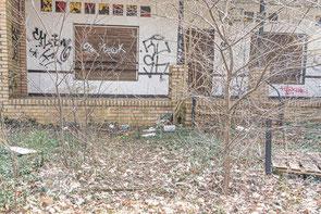Das ehemalige Waldcafe in der Kiefernstraße in Zühlsdorf