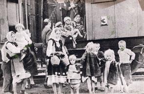 Enfants refugiés grecs envoyés dans d'autres pays du bloc de l'Est - source wikimedia commons