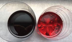 Getriebeöl vor und nach einer Ölspülung