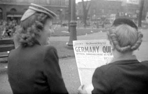 Journal du 7 mai 1945, Montréal