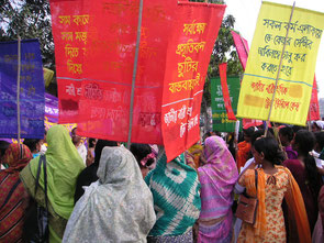 Journée des femmes, Bangladesh