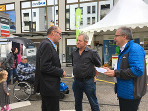 Markus Ritter, Benno Gmür, Thomas Ammann