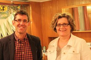 Die Belange der Gemeinde erklärte an diesem Abend hauptsächlich Christine Wirth, jene der Schule Heinz Knellwolf.
