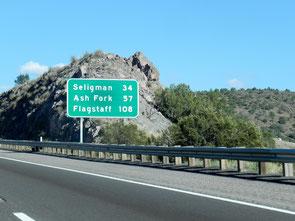 Unterwegs nach Seligman