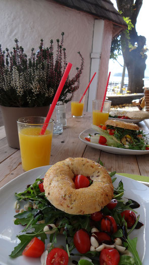 fair4world - Bagel & Coffee - Frühstück und gesunde Snacks