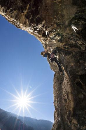 Klettern in Lakatnik, Bulgarien