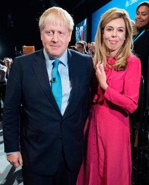 Boris Johnston, Carrie Symonds, Brexit, Baby, Mother, Father