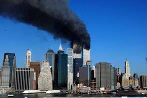 Lower Manhattan on the morning of September 11th 2001 (The Sunday Independent)