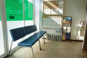 山田鍼灸院 待合室