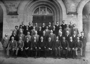 """Gesangverein """"Einigkeit"""" Flehingen – Fahnenweihe 1925"""