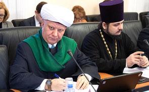 Крганов Альбир, муфтий Духовного собрания мусульман России, Великая Победа, Совет Федерации