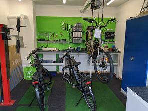 Service Werkstatt e-motion e-Bike Welt Cloppenburg
