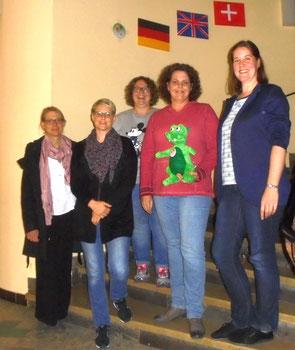 Diese Leute steuern zukünftig den Förderverein (v.r.): Alexandra Krautkrämer, Elena Giffels, Katharina Grunz, Michaela Kuhl, Claudia Weber