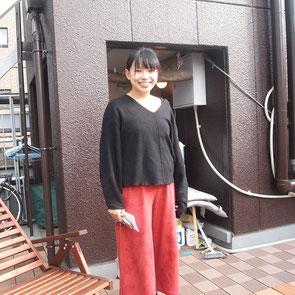 Beehive Hostel Osaka の屋上にて
