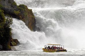 Wasserfall Schaffhausen in Neuhausen am Rheinfall