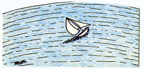 A VENDRE Pauvre voilier abandonné