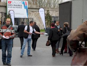 Mercredi 29 mars 2017 : la FFMC IdF sensibilise les maires d'Ile-de-France aux avantages des 2-3 roues motorisés en ville (et aux conséquences de leur interdiction dans la Zone à Circulation Restreinte ZCR de Paris)