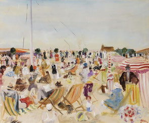 "Lucien Adrion ""The beach"" 1929"
