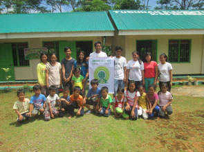 The Tugunan Elementary school participated in Green Wave activity.