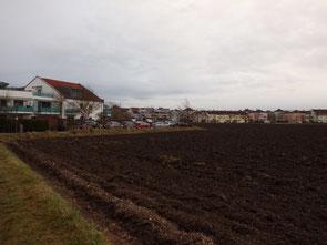 Der nördliche Teil der Kegelfelder - hier könnte bald die Unterkunft für Asylbewerber stehen.