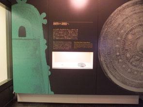 銅鐸から銅鏡へ(野洲市立銅鐸博物館展示パネル)